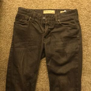 Guess Brown Lincoln Slim Straight Jeans